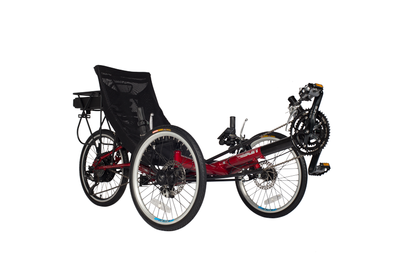 The T3 CX electric recumbent trike sold by ElectricTrike.com