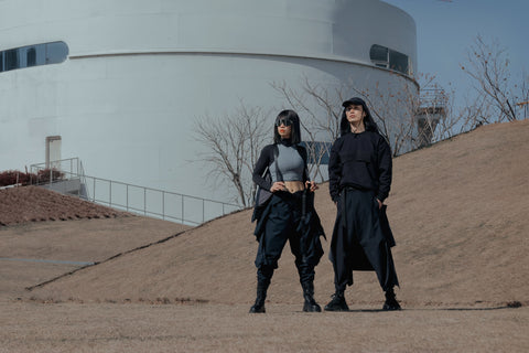 ROSEN-X Aether Jumpsuit in Synthetics