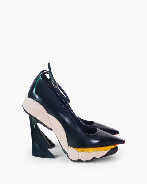 Christian Dior by Raf Simons Sneaker Heels Sz 38
