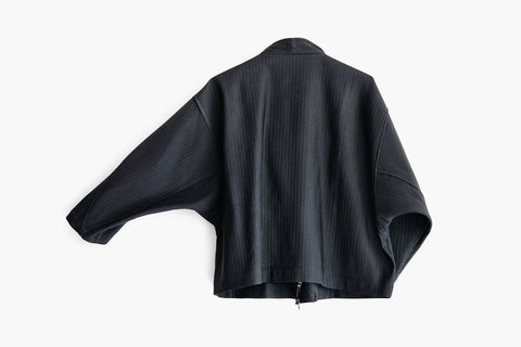ROSEN Shibui Jacket in Pleated Linen Blend