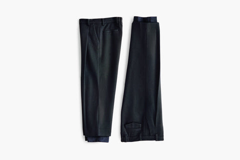 ROSEN Epicurean Trousers in Wool Cashmere