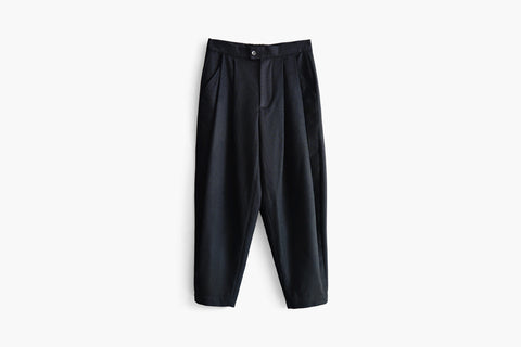 ROSEN Wilhelm Trousers in Wool Cotton Blend