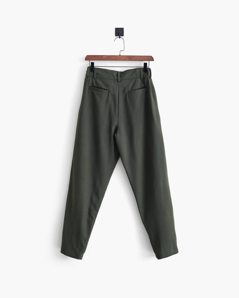 ROSEN-S Weekend Trousers - Green Wool