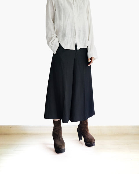 Issey 24 Wool Culottes Fits XS-S