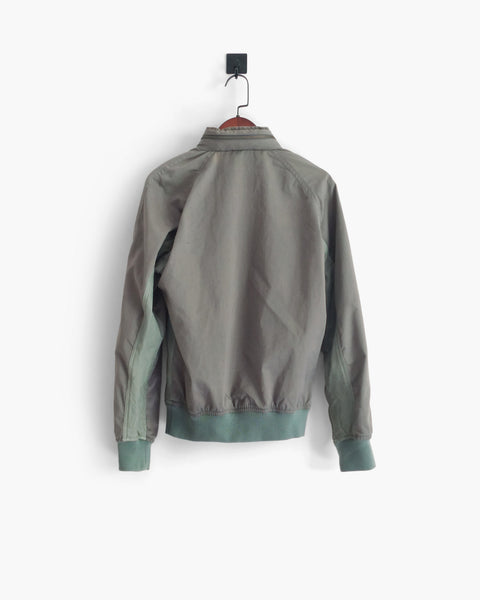 Lemaire Leather-Panelled Hooded Bomber Jacket