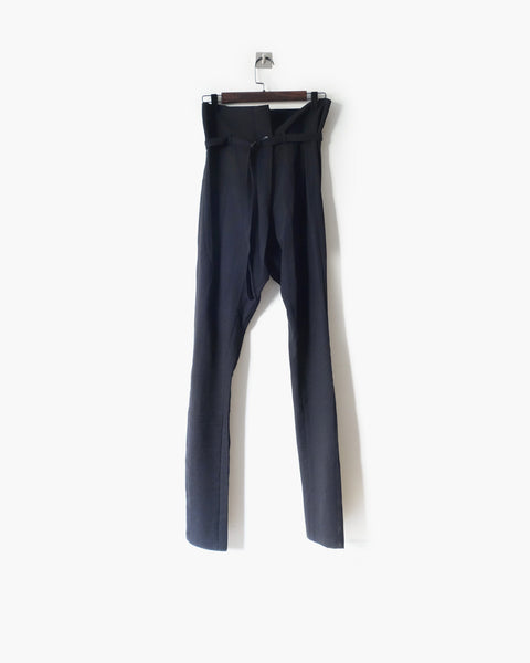 Ann Demeulemeester Belted Trousers Sz 34
