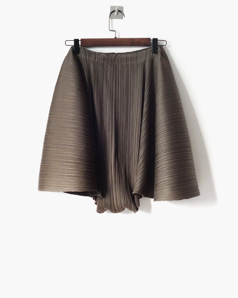 Issey Miyake Pleats Please Flared Culottes Sz 3