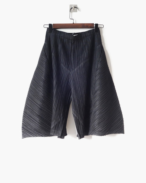 Issey Miyake Pleats Please Sculptural Trousers Sz 3