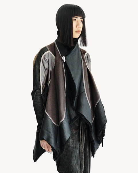 Rick Owens FW2008 Stag Shearling Jacket IT 40