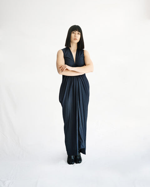 Rick Owens Naska Mermaid Maxi Dress IT 38-40