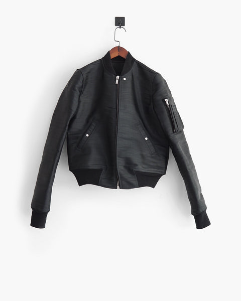 Rick Owens SS2018 Technical Bomber Jacket Sz 40