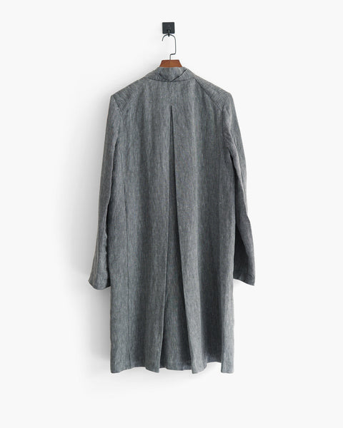 Lumen et Umbra Mens Linen Coat Sz 46