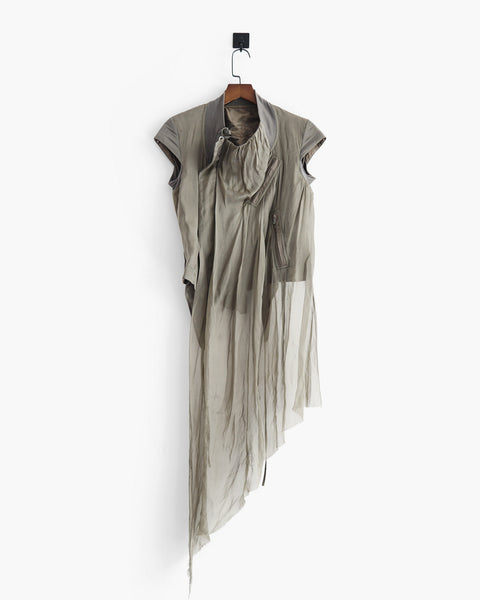 Rick Owens SS2011 Draped Short Jacket Sz 40