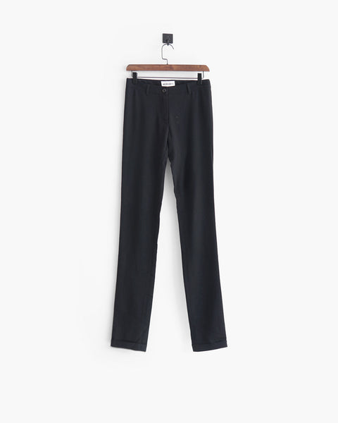 Ann Demeulemeester Stretch Tailored Trousers Sz 36
