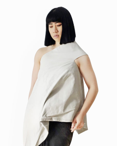 Rick Owens SS2011 Leather Tunic Top Sz 40