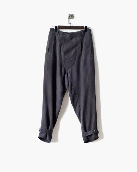 ROSEN Brontë Trousers in Silk Linen