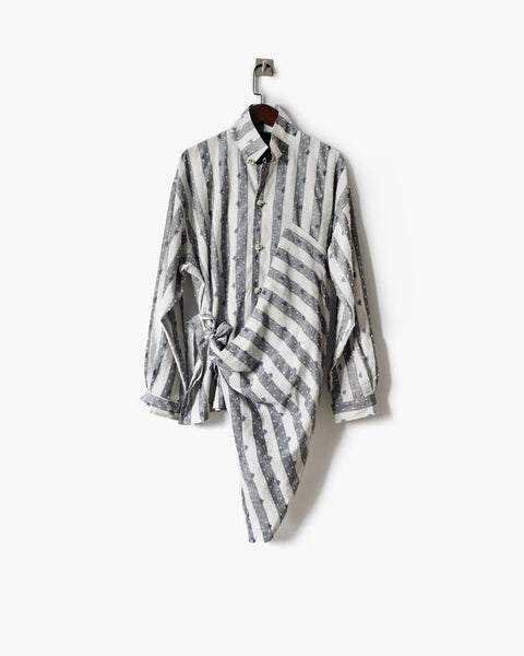 ROSEN Plato Shirt in Bicycle Linen