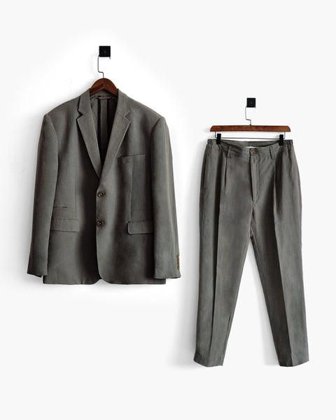 ROSEN-S Daily Suit Jacket - Olive Grey