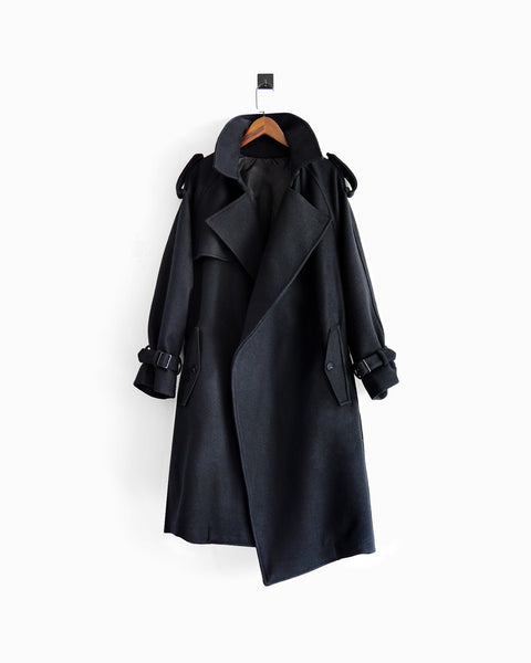 ROSEN Alexandria Overcoat in Heavy Wool