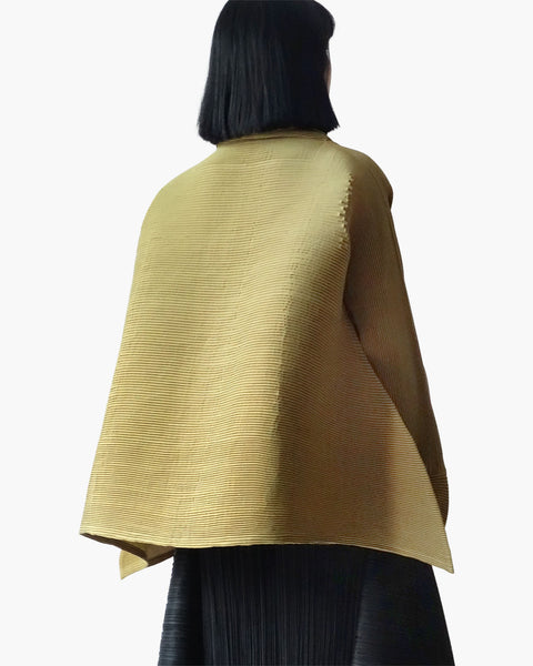 Issey Miyake Pleated Tent Tunic Sz L