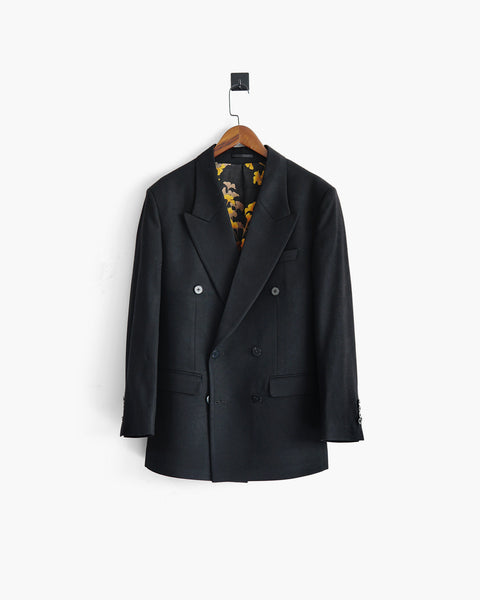 ROSEN Celliers Jacket in Wool Twill