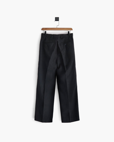 ROSEN Celliers Trousers in Wool Twill