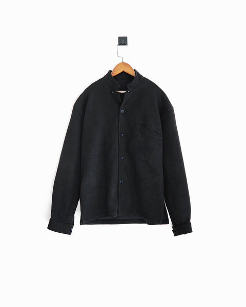 ROSEN-S Leisure Overshirt in Microsuede