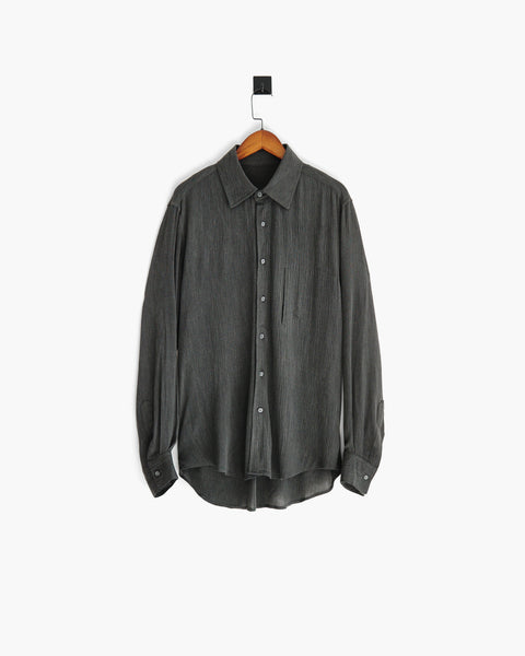 ROSEN-S Long Sleeve Shirt - Textured Linen