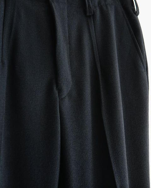 ROSEN-S Tailored Trousers in Italian Wool Crepe