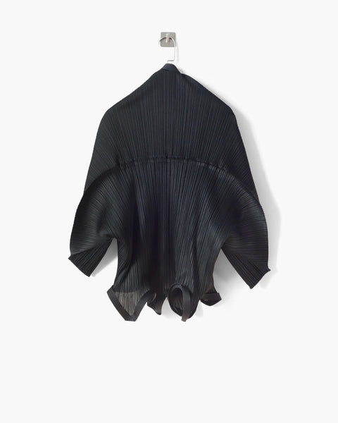 Issey Miyake Pleats Please Sculptural Bolero Jacket One Size