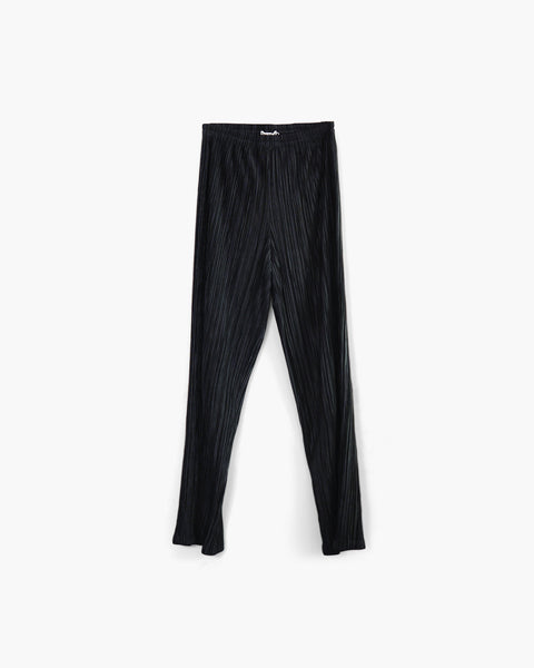 Issey Miyake Pleated Slim Fit Trousers Sz M