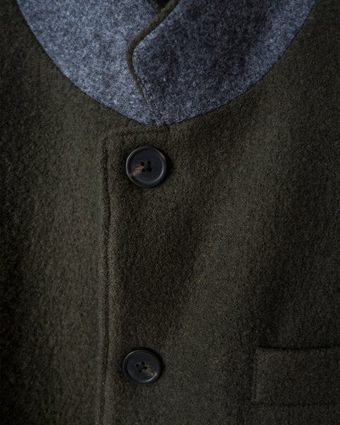 ROSEN Arouet Suit in Japanese Boiled Wool