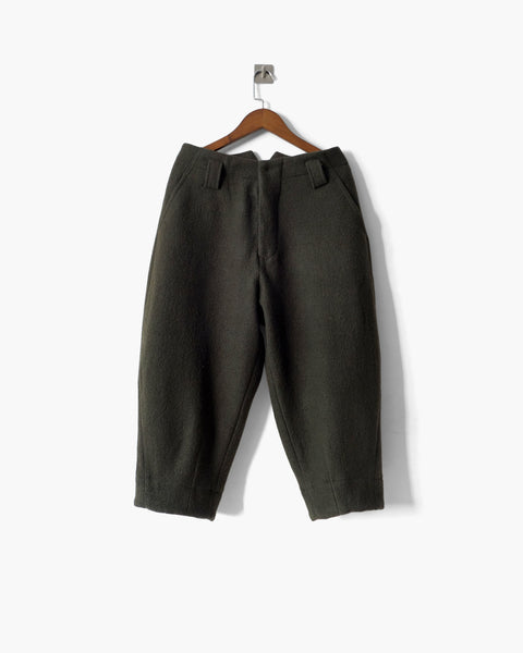 ROSEN Arouet Trousers in Japanese Boiled Wool