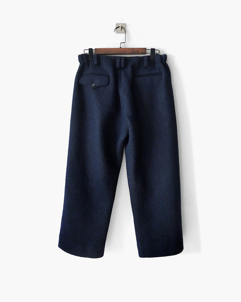 ROSEN Eisai Trousers in Boiled Wool