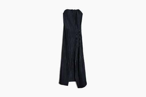 Issey Miyake FETE Pleated Vest Dress Sz 3