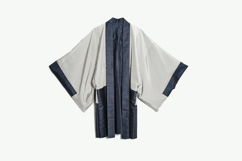 Haori with Hand-Painted Figures