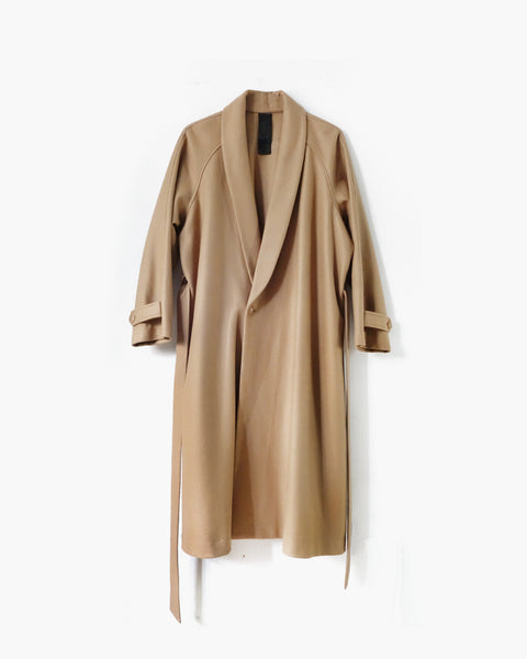 ROSEN Epicurean Robe in Camel Wool