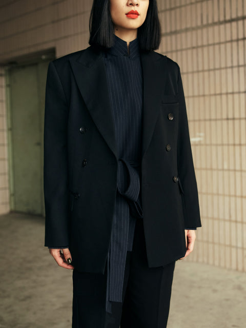 ROSEN Hara Jacket in Wool Twill