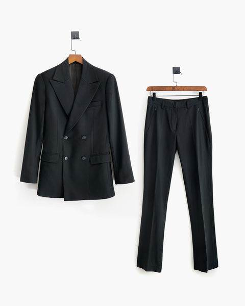 ROSEN-S Double-Breasted Tuxedo Suit