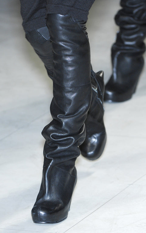 Rick Owens FW2008 Stag Boots Sz 37.5