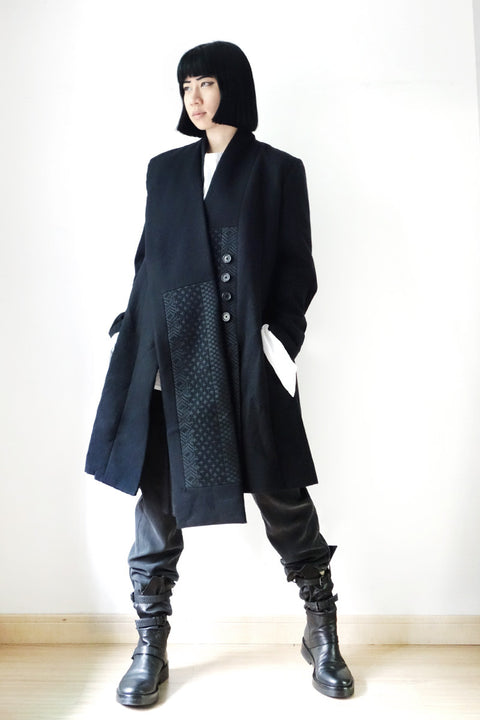 Ann Demeulemeester FW2015 Absolution Coat Sz 34