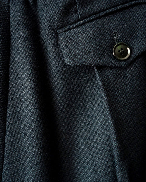 ROSEN Hanzo Hakama in Textured Wool