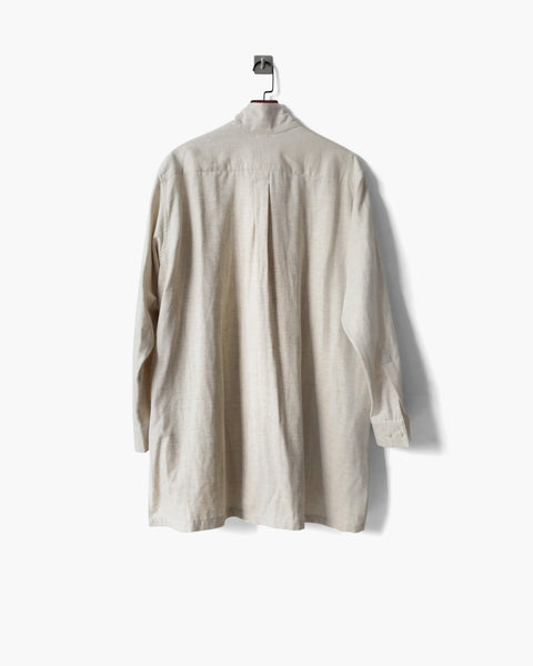 ROSEN Planck Shirt in Japanese Linen