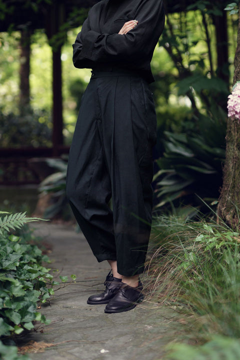 ROSEN Wilhelm Trousers in Brushed Cotton