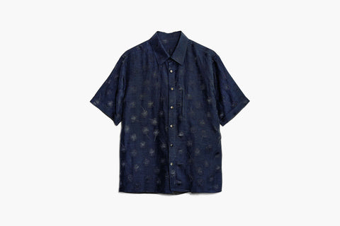 ROSEN-S Short Sleeve Shirt - Embroidered Cotton