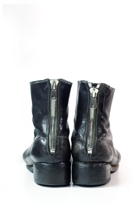 Guidi Zippered Ankle Boots Sz 38