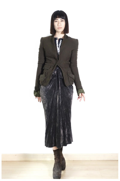 Haider Ackermann FW2013 Textured Jacket Sz 36