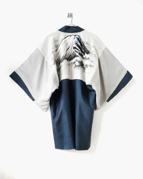 Haori with Fuji Mountain Painting