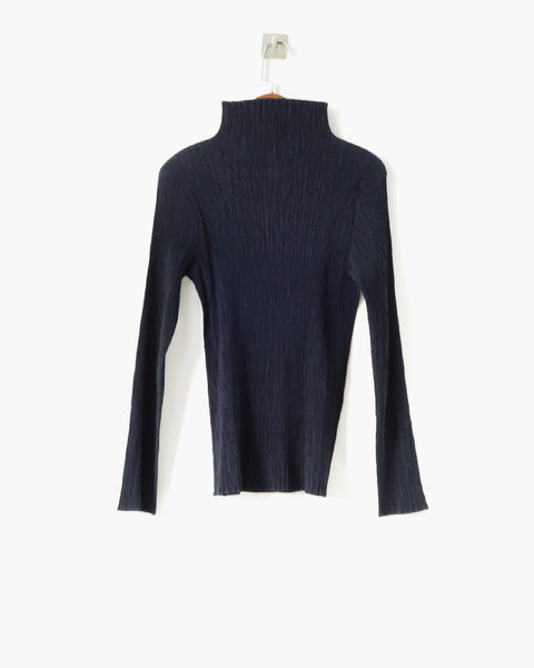 Issey Miyake Pleated Blouse Sz L