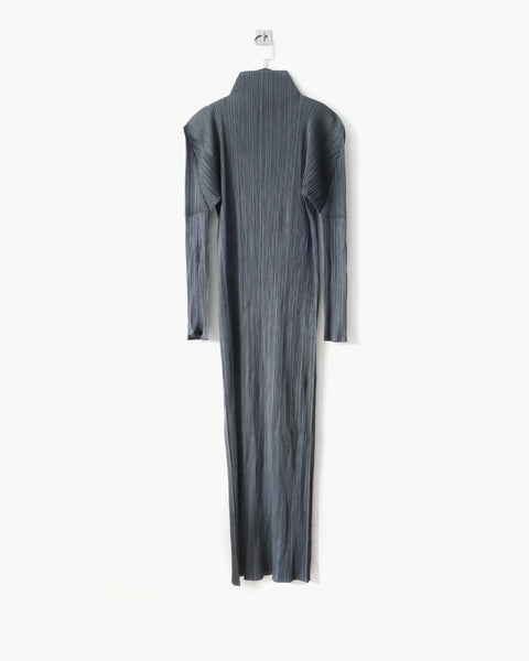 Issey Miyake Pleats Please Turtleneck Dress Sz 4